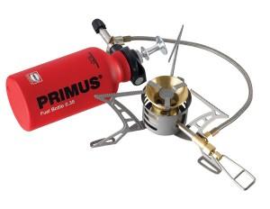 Primus OmniLite Ti incl fuel bottle