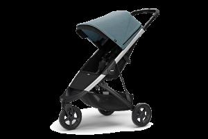 Детская коляска Thule Spring (с рамой металлического цвета)