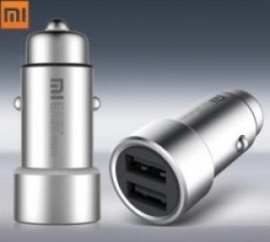 Автомобильное зарядное Xiaomi Mi Car Charger CZCDQ01ZM