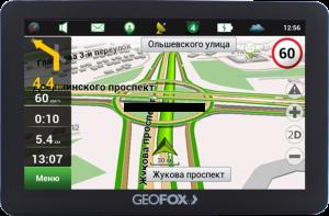 GPS-навигатор GEOFOX MID502GPS
