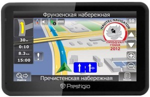 Навигатор Prestigio GeoVision 5166BTFMHD