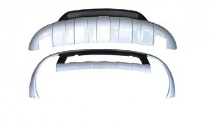 Передняя и задняя защита VW TOUAREG 2002-2012