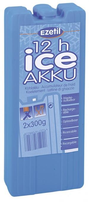 Аккумулятор холода Ezetil IceAkku, 2x300гр