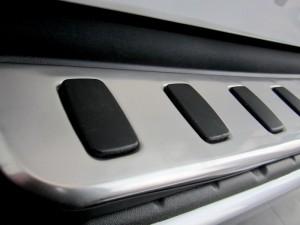 Накладка на задний бампер Toyota Land Cruiser 200 KA-TL-B23