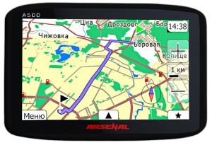 Навигатор Arsenal A500