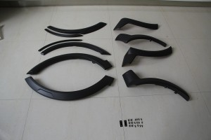 Накладки на колесные арки Toyota Hilux ART-VGO-005