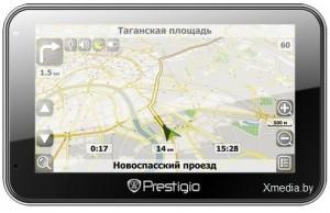 Навигатор Prestigio GeoVision 5500