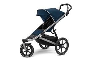 Детская коляска Thule Urban Glide 2 (Aluminium/MajolicaBlue)