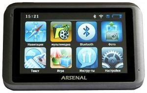 Навигатор Arsenal A700