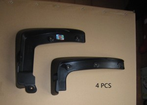 Брызговики Hyundai iX45 KA-HS-M31